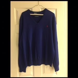 Polo by Ralph Lauren Other - Mens Wool Polo V Neck Sweater XL