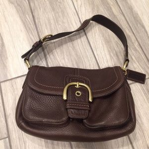 COACH Purse -Dark Brown - AUTHENTIC