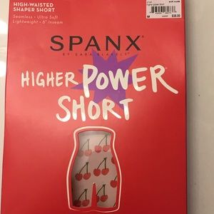 SPANX Higher Power Short Nude Color
