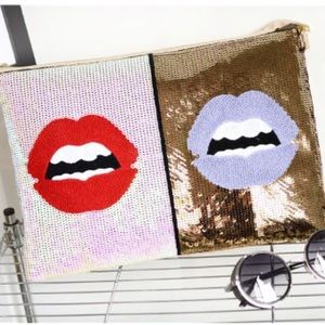 Handbags - Stylish sequin sparkle clutch
