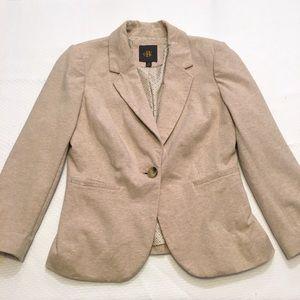 The Limited Jackets & Blazers - The Limited tan OBR blazer