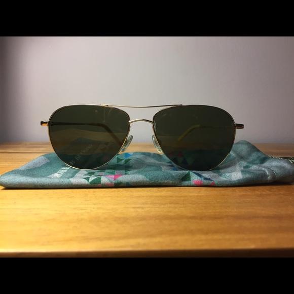 2e93b721747 Oliver Peoples Benedict Aviator sunglasses. M 58d8738a4127d040b60d7d30