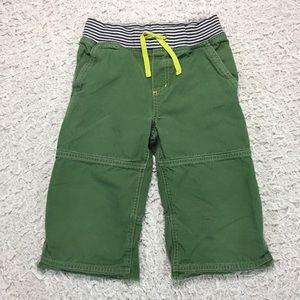 Mini Boden Other - Mini Boden long green shorts boys 9y