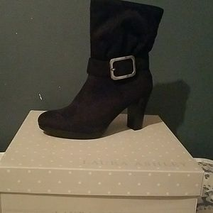 "Laura Ashley Shoes - New Laura Ashley Booties high heel 3"""