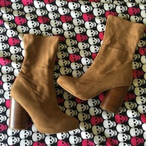Jeffrey Campbell Shoes - Jeffrey Campbell Suede Booties