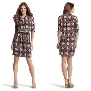 WHBM • Snake Print Dress