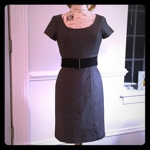 H&M grey dress Sz 8