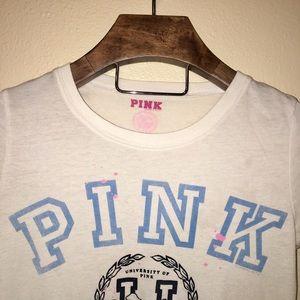 PINK Victoria's Secret Tops - PINK Victoria's Secret | Alumni Tee