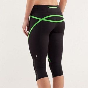 lululemon athletica Pants - {lululemon} run pace crop