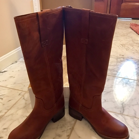 48cbeecc784 Steve Madden Natalee leather riding boots NWT