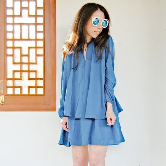 Story of My Dress Dresses & Skirts - ✨ Point Sur Teal Blue Dress ✨