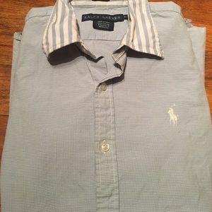 Polo by Ralph Lauren Tops - Ralph Lauren Polo Shirt Button Up Size 8!