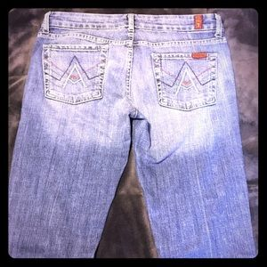 7 for all mankind- A pocket