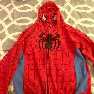 Spiderman Other - Spider-Man Boy's Size XL 14-16 Cotton Jacket