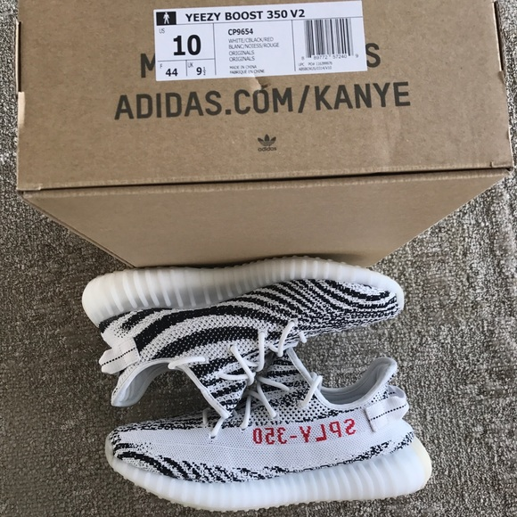 Shoes | Yeezy Boost Zebras Size Us 1