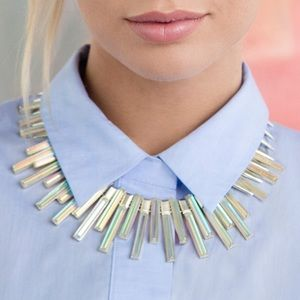 Kendra Scott 'Kaplan' Iridescent Collar Necklace
