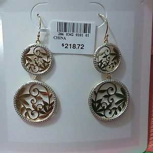 jcpenney Jewelry - SALE! 🌸14k gold over silver w/ diamond..