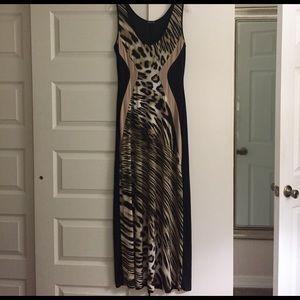 Venus of Cortland Dresses & Skirts - Long animal print dress