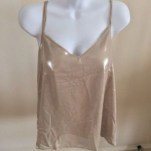 River Island Tops - River Island Double Layer Metallic Cami, Size 12