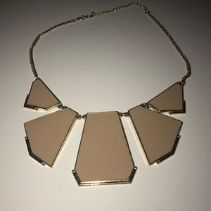 House of Harlow 1960 Jewelry - House of Harlow look-a-like Geometric necklace