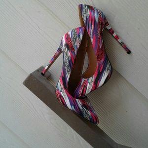 Alba Shoes - Multi-Color Heels