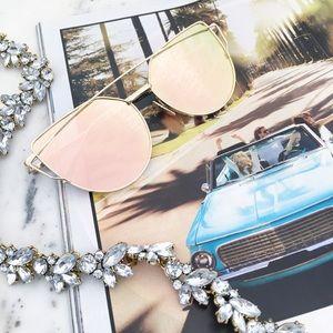 """Erica Rose Accessories - 🆑 """"Natalie"""" Sunglasses    Rose Gold Mirror 2"""
