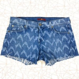 7 For All Mankind Pants - 7 For All Mankind Denim Shorts