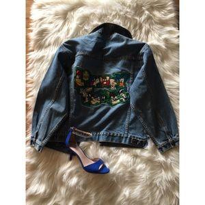 vintage Jackets & Blazers - 24hr❗️Vtg90s Grunge Looney Tunes Jean Denim Jacket