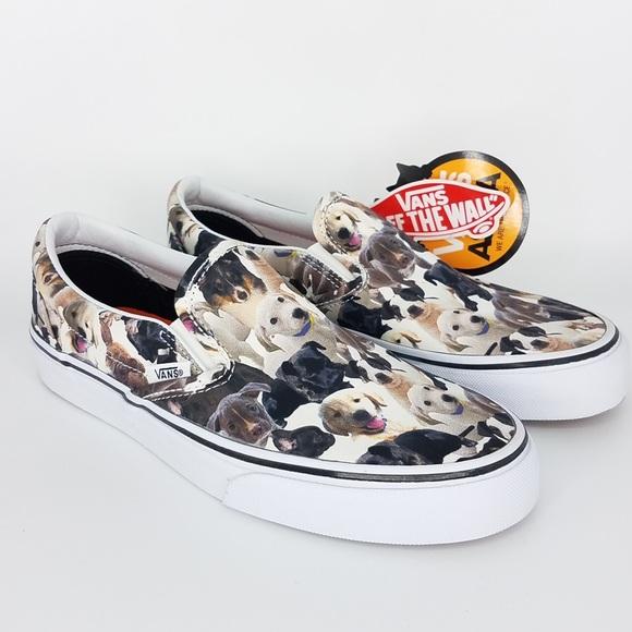 d3af5b10a18 Vans x ASPCA slip on vans sneakers