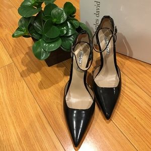 Charles David Shoes - Beautiful patented leather heels