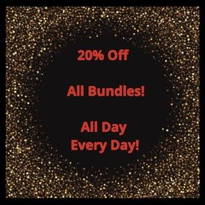 Tops - 20% Off All Bundles from 4 Closets!