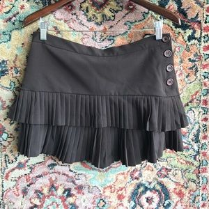 BCBG MaxAzria Pleated MINI Skirt