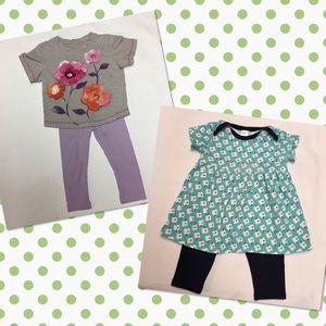 Nordstrom Baby Other - Baby girl 6 months and 6-12 months outfits 🌺