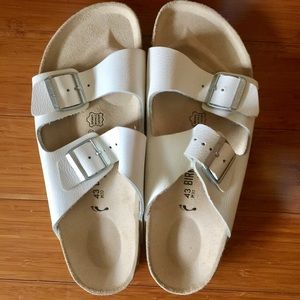 Birkenstock Shoes - Birkenstock shoes- white original style