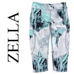 Zella Girl Other - NEW!  Zella Girl Live-in crop print leggings-youth
