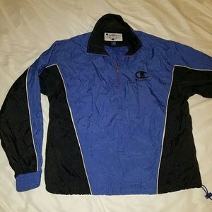 EUC Vintage Large Champion 1/4 Zip jacket