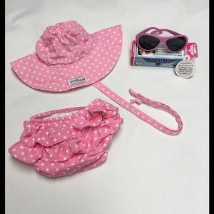 Babiators Other - Baby girl 6m swim/summer/beach bundle ⛱
