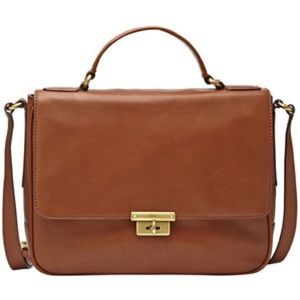 Fossil Handbags - Fossil Memoir Novel Flap Leather Bag