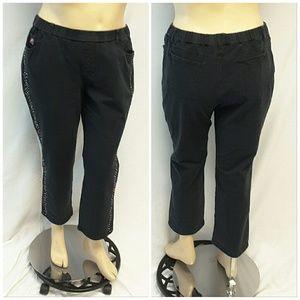 Dream Jeannes Jeans - *PLUS* DREAM JEANS By Quaker Factory, size 14