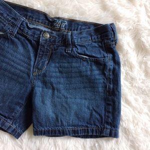 Old Navy Pants - OLD NAVY flirt blue jean shorts
