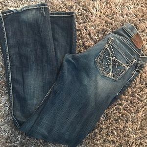 BKE Denim - BKE Jeans Mia Destroyed Frayed Stretch Denim Boot