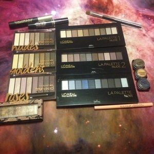 L'Oreal Other - CoverGirl & L'Oréal Eyeshadow Palettes & FREEBIES