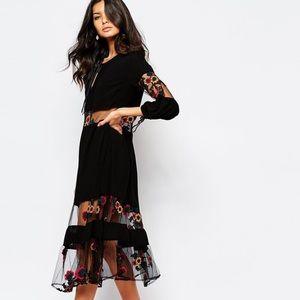 For Love and Lemons Dresses & Skirts - For love and lemons Eva midi dress XS