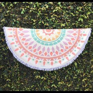 Gypsy 05 Other - Gypsy The Boho Beach Roundie Blanket