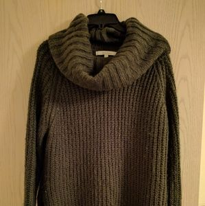 Sweaters - Olive Oversized cowl neck sweater