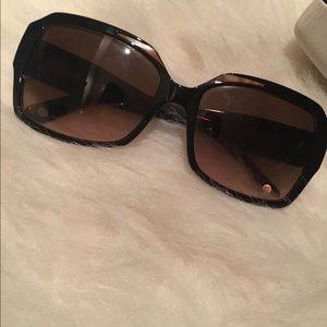 Versace Accessories - Versace brown / tortoise sunglasses