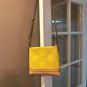 Isaac Mizrahi Handbags - Isaac Mizrahi Canary Yellow Crossbody Bag