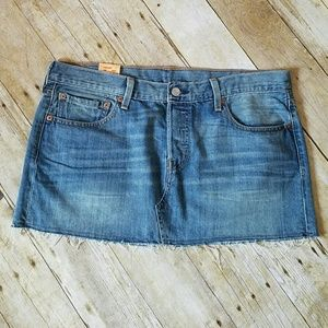 Levi's Dresses & Skirts - Levi's 501 Denim Skirt