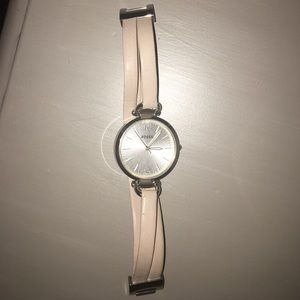 Fossil Accessories - Fossil wrap watch taupe silver