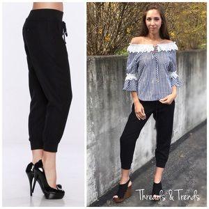 Threads & Trends Pants - 🌸🆕Leisure Linen Capris